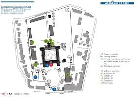plan du rectorat de Caen
