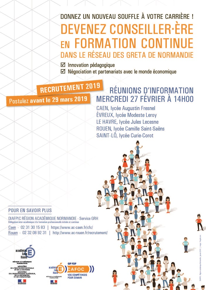 5f2a26b324f Recrutement de Conseillers en Formation continue - Campagne 2019-2020